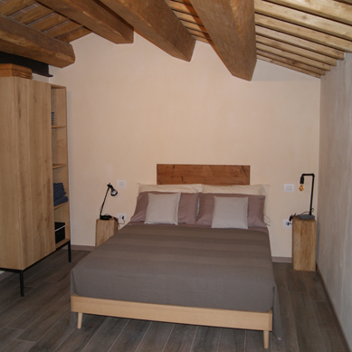 Two double rooms on the first floor