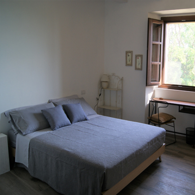 A double room on the ground floor - wheelchair accessible -